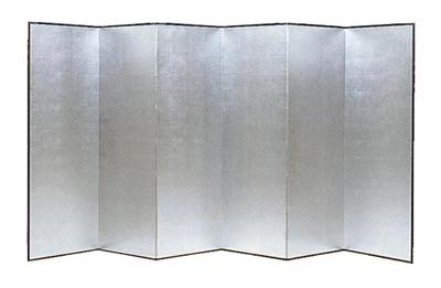 銀屏風 アルミ箔