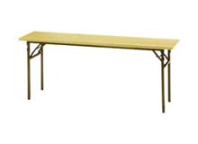 角テーブル(ストレート脚)