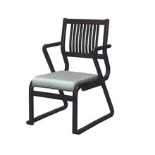 高座椅子肘付